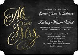 Foil Stamped Affordable Wedding Invitations