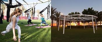 Free Yoga Classes Four Times A Week At New Outdoor Hub In Dubai