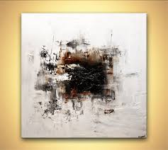 abstract painting white abstract modern abstract painting