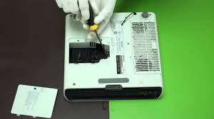 how to replace the projector l for sony vpl ex130