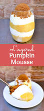 Pumpkin Mousse Brownie Trifle by Layered Pumpkin Mousse No Bake