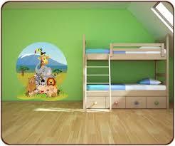 chambre bebe jungle des stickers jungle et savane afrique pour votre déco chambre enfant