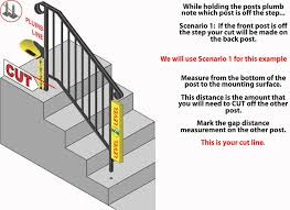 Iron X Handrail Installation Animation - YouTube Remodelaholic Stair Banister Renovation Using Existing Newel How To Install Baby Gates On Stairway Railing Banisters Without My Humongous Diy Stairs Fail Kiss My List Stair Banister Rails The Part Of For Installing A Gate Drilling Into Insourcelife Pipe And Wood Hand Rail Made From Scratch Custom Rustic Wood 25 Best Painted Ideas Pinterest Makeover Gel Stain Handrails Your Home Translatorbox Best Railings Railings What Do You Need Know About Staircase Design 30th March 2017 Black