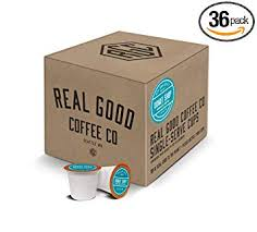 Real Good Coffee Co Recyclable K Cups Donut Shop Medium Roast For Keurig