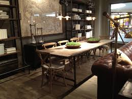 Dining Room Tables Ikea by Restoration Hardware Dining Rooms Alliancemv Com