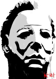 Michael Myers Pumpkin Template by Horror Pumpkin Stencils