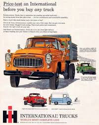 1960 International Trucks Ad | I H | Trucks, International Harvester ... Picking Up The Pieces Of A Classic Truck Wsj Intertional Harvester Scout Trucks Hobbydb 1960 Model B Bc Bcf Sales Brochure Stock Photos Fileintertional B120 Flatbed Redjpg Wikimedia Commons The Early Years Quarto Knows Blog Mobsteel Detroit Gangstar Sema 2015 Light Line Pickup Wikipedia 1972 Pickup Tractor Cstruction Plant Wiki Fandom 1931 Truck