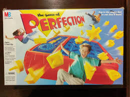 VINTAGE The Game Of Perfection Board Milton Bradley 1995 100 COMPLETE MiltonBradley