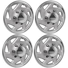 4pc Hubcaps Fits Ford Truck Van For 16