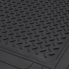 Oxgord Trim 4 Fit Floor Mats by Bdk Heavy Duty Cargo Trunk Car Floor Mat All Weather Rubber