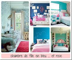 chambre fille bleu bleu couleur mixte