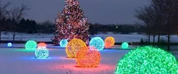 Outdoor Christmas Tree Ornaments Outside Balls