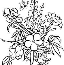 Coloring Free Printable Pages Flowers Fresh At Painting Online A Part Of 10 Gallery