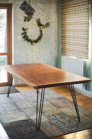 holztisch küchentisch esstisch wohnzimmer tisch holz rustikale dekor bauernhaus esstisch rechteck tisch stahl beine tisch
