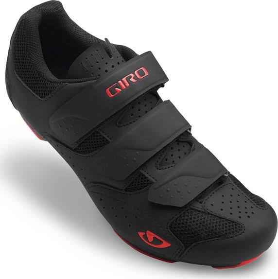 Giro Rev Cycling Shoes - Men's Black/Bright Red / 44