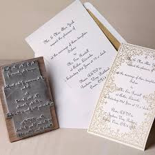Wedding Invitation Stamp By English Company
