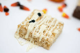 Rice Krispie Halloween Treats Candy Corn by Halloween Themed Rice Krispie Treats Emillion Thoughts