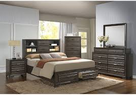 trifecta grey 5 pc queen bedroom badcock home furniture more