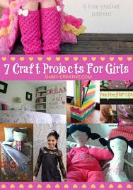 7 Craft Projects For Girls