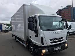 Used Iveco Eurocargo AUTO BOX Box Van For Sale In Salford Quays ...