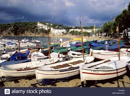100 Ampurdan Llafranc Beach And Boats Baix EmpordBajo Ampurdn