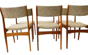 Gorgeous Teak Scandinavia Danish Modern Dining Chairs Six ... Modern Ding Chair Tribute Collection Contemporary Danish Teak Black Leather Chairs Set Of 4 Exclusive And Marvin Midcentury Faux 2 Rosewood And Whosale Room Ideas Different Mid Century Best Ding Chairs Room Fniture Italian Mid Century Danish Modern 6 Erik Buck Rosewood Leather Emfurn Fox1705bset2 Fniture By Safavieh