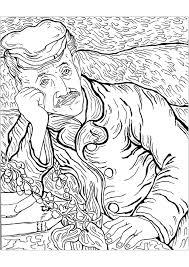 Colorier Tournesol Van Gogh Les Tournesols Coloriage Magique Sur