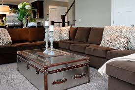 fabulous living room ideas with brown sectional decorating living