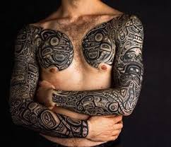 Hawaiian Tribal Tattoos For Men