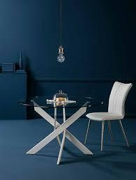 konferenztisch glastisch 120cm rund esstisch esszimmertisch metall weiß glas ebay