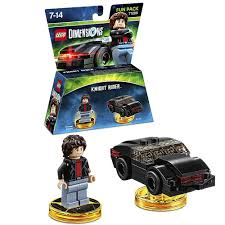 LEGO Dimensions - Knight Rider: Machael Knight & K.I.T.T. Fun Pack 71286
