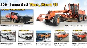 Kansas Department Of Transportation Auction | March 15, 2018 ...