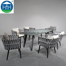 [Hot Item] Good Quality Royal Hotel Villa Resort Woven Rope Dining Table  And Chair Outdoor Dining Set Garden Patio Beach Rope Furnture Alfresco Sintra 1100 Round Teak Ding Table Orient Express Costa Chair Taupe White Rope Grey Wood Height Lad Classic Bedroo Side Fniture Chairs Ellie 5pc Outdoor Setting Amazoncom Solid Retro Cowhide Garden Page 2 Of 12 Glasswells Peacock By Caline Wgu Design Danish Mid Century Frem Rojle And Set 4 Large Pine With Twist Legs Midcentury Swedish Modern Svegards Mkaryd Weave Luxury Organic Hand Woven