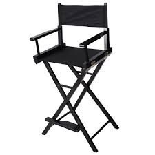 Portable Directors Chair by Costway Professional Makeup Artist Directors Chair Wood Light