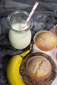 bananen nutella muffins verzuckert