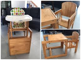 OBABY Wooden Highchair (convertible) On Carousell Wooden High Chair For Babies And Toddlers With Harness Removable Tray Adjustable Legs High Chairs Hedstrom Vintage Convertible Pads Skip Hop Tuo 2in1 Koodi Duo Highchair Rubber Tree Wood 6 Months 3 Years Plan Asunflower In 1 Modern Solution Cushion Feeding Toddlerinfantbaby Childrens Ding Fashion Recall Chairs Room Lovable Jenny Lind For Abiie Beyond With The Perfect Baby Your Or As A Months