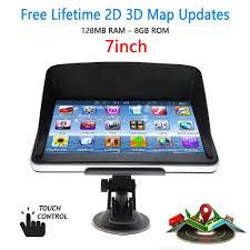 100 Truck Gps App 7 8GB Car Lorry HGV LGV GPS SAT NAV Navigation Free World Maps Updates