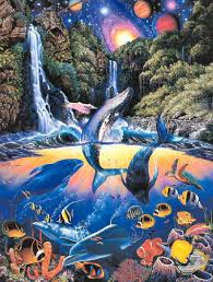 100 Christian Lassen Sanctuary Riese Ocean Art Dolphin Art