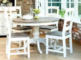 Round Farmhouse Table Set Lovely Dining Pics Mini St Home Furniture White Inspirational