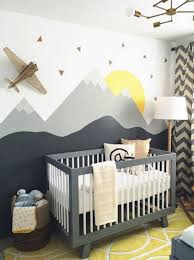 chambres de bébé la chambre de bébé montagne les plus belles chambres de bébé