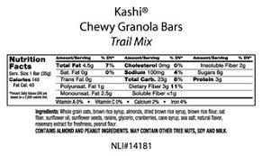 KashiR Chewy Granola Bars Trail Mix