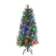 3ft Christmas Tree Asda by 3 U0027 Battery Operated Pre Lit Led Pine Artificial Christmas Tree