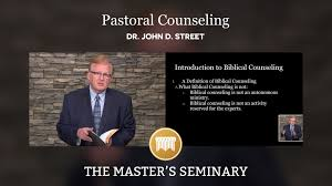 Lecture 01 Pastoral Counseling