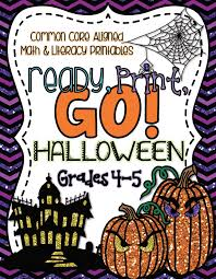 Halloween Multiplication Worksheets 4th Grade by Ready Print Go Halloween Edition Create Teach Share