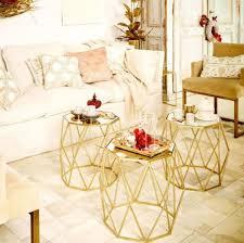 casa padrino luxus beistelltisch set gold 3 metall tische mit glasplatte wohnzimmer möbel luxus kollektion