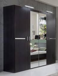 armoire chambre armoire 4 portes chambre à coucher wengue