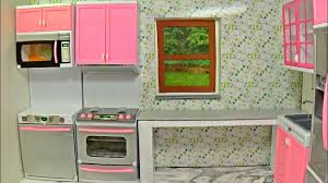Diy Doll Kitchen │How To Make A Kitchen For Barbie │DIY For Dolls