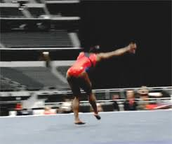 Simone Biles Floor Routine by Wogymnastika Simone Biles U0027 Doing Two Hs And A G Rated Tumbling