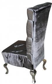 casa padrino barock esszimmer stuhl grau silber designer stuhl luxus qualität hochlehner hochlehnstuhl gh