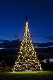 Flagpole Christmas Tree Lighting 10 M 3333 Ft